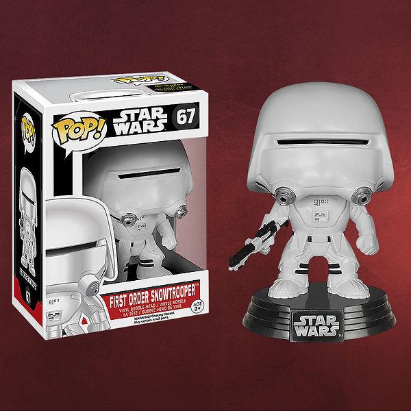 Star Wars - First Order Snowtrooper Wackelkopf-Figur
