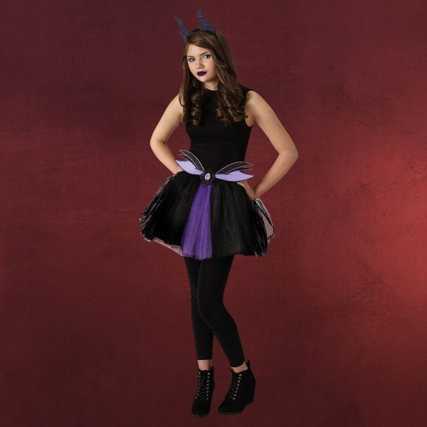 Maleficent - Disney Kostüm Set für Teenager