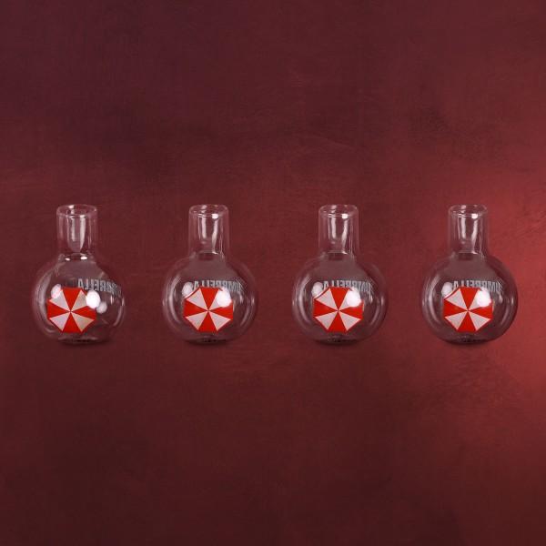 Resident Evil - Umbrella Corporation Mini Gläser Set