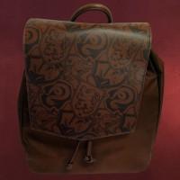 Harry Potter - Wappen Rucksack braun