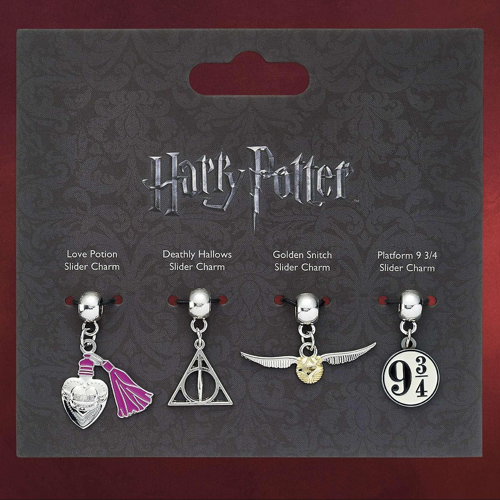Harry Potter - Slider Charm Anhänger-Set | Elbenwald