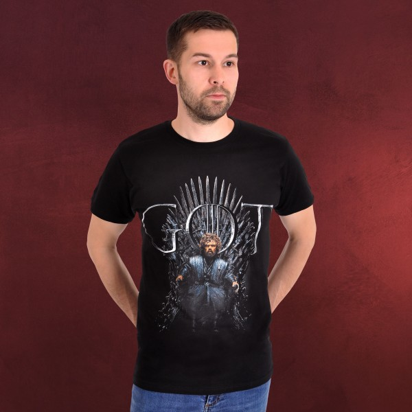 Game of Thrones - Tyrion For The Throne T-Shirt schwarz