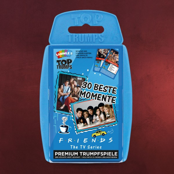 Friends Top Trumps Spielkarten