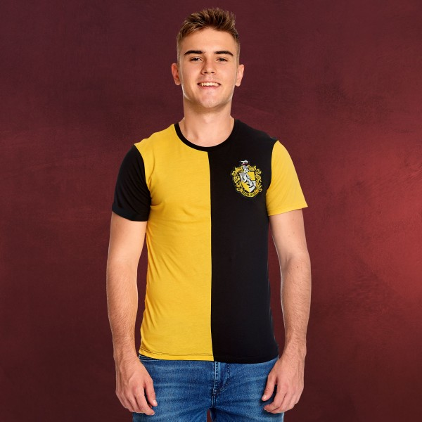 Harry Potter - Hufflepuff Tournament T-Shirt gelb-schwarz
