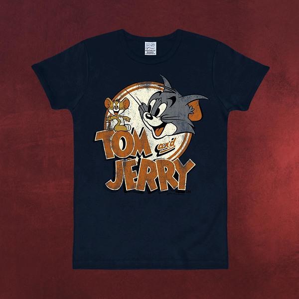 Tom und Jerry - Logo T-Shirt