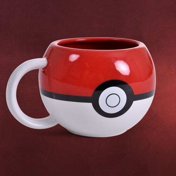 Pokemon - Pokeball 3D Tasse