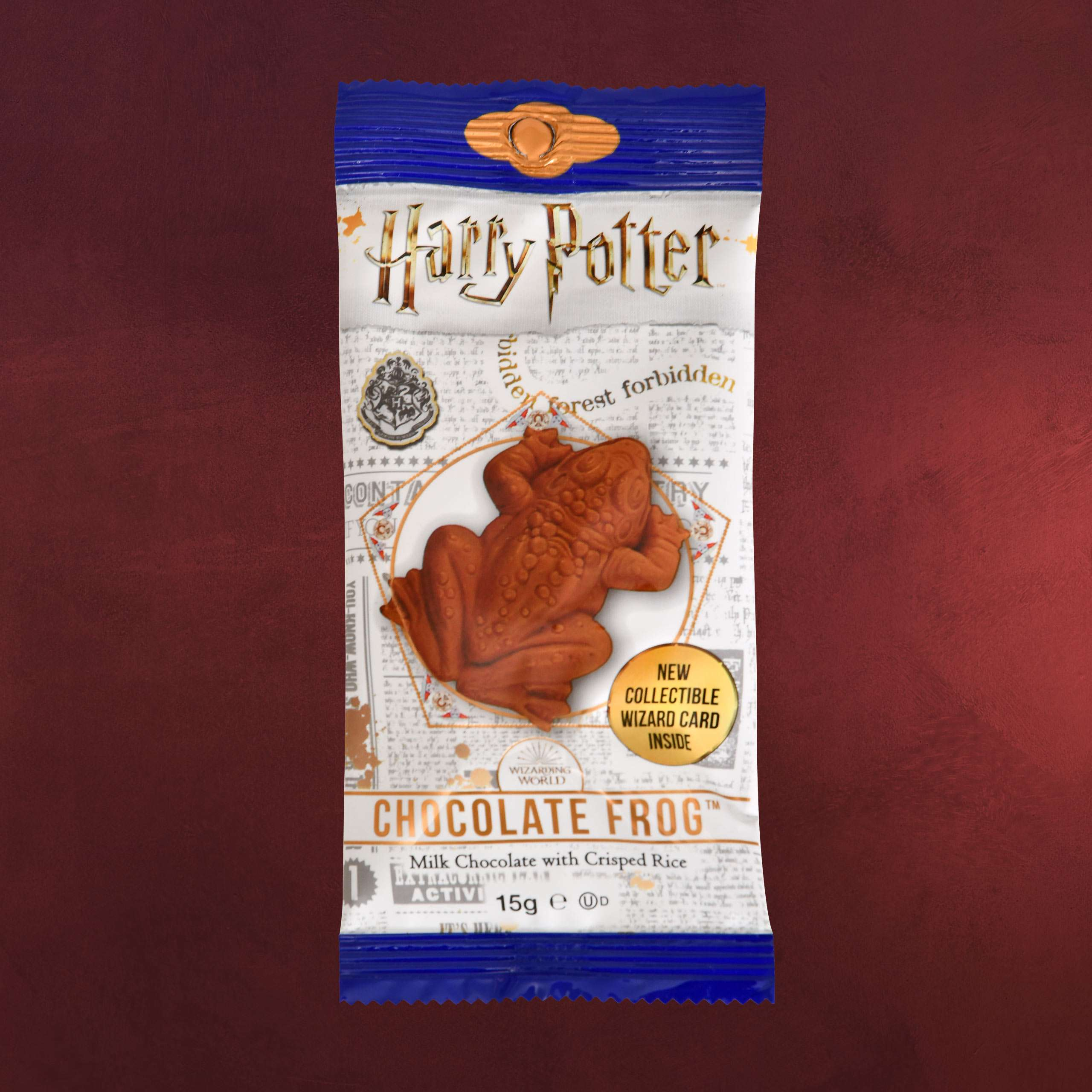 15g Schokofrosch inkl Harry Potter Sammelkarte
