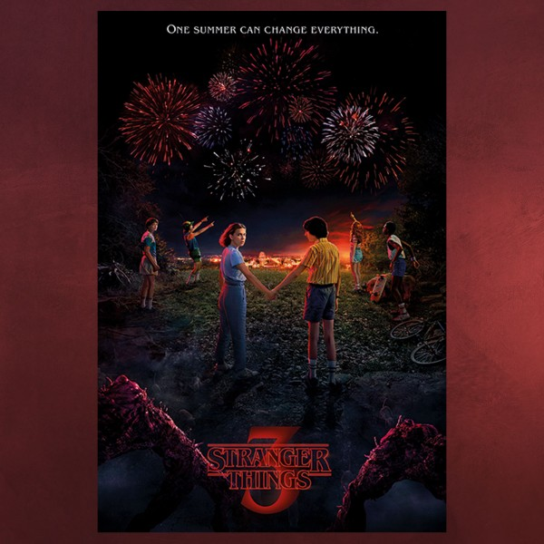 Stranger Things - Season 3 One Sommer Maxi Poster