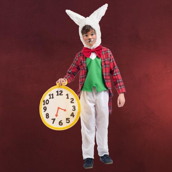Weißes Kaninchen - Kostüm Kinder