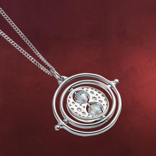 Harry Potter - Zeitumkehrer Kette mit Swarovski Kristallen