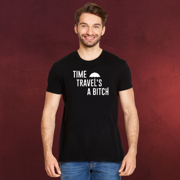 Time Travel's a Bitch T-Shirt für The Umbrella Academy Fans