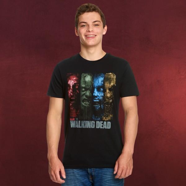 Walking Dead - Zombies T-Shirt schwarz