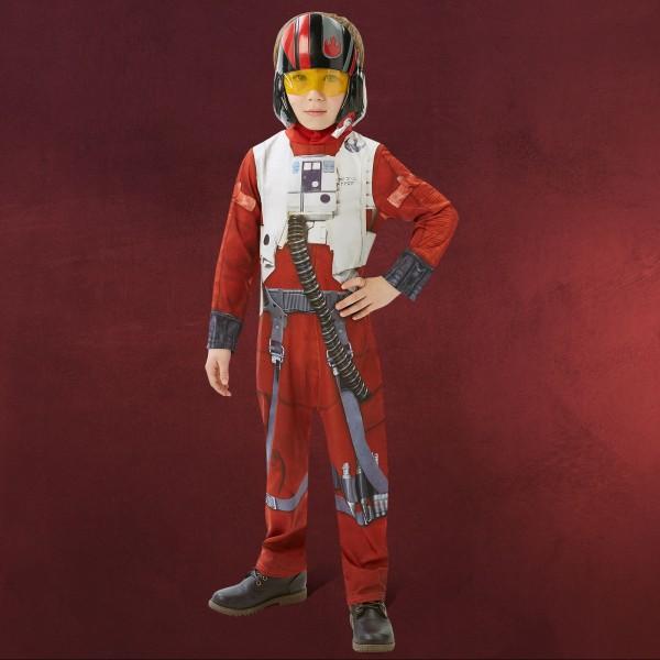 Star Wars - Poe X-Wing Fighter Kostüm Kinder