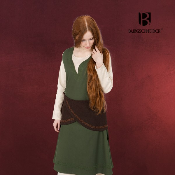 Mittelalter Wickelgürtel Ketra Damen braun