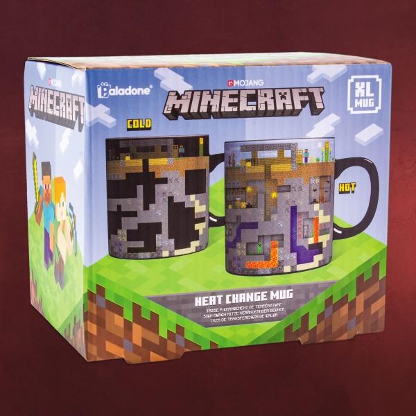 Minecraft - Thermoeffekt Tasse