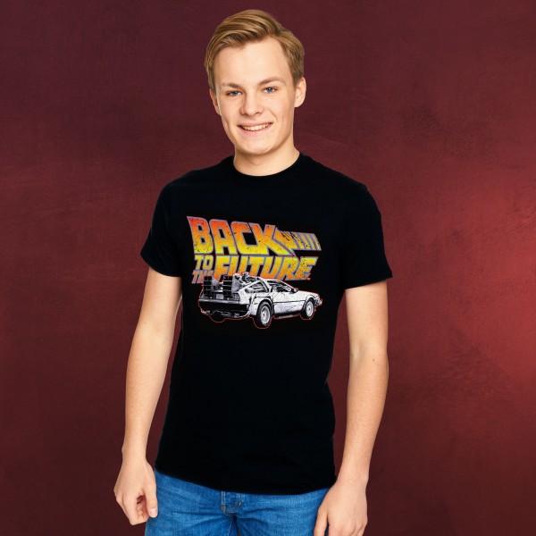 Zurück in die Zukunft - Logo T-Shirt