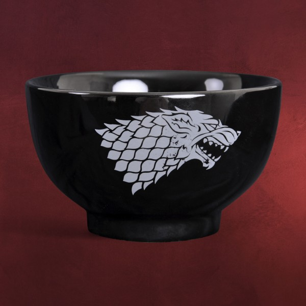 Game of Thrones - House Stark Müslischale schwarz
