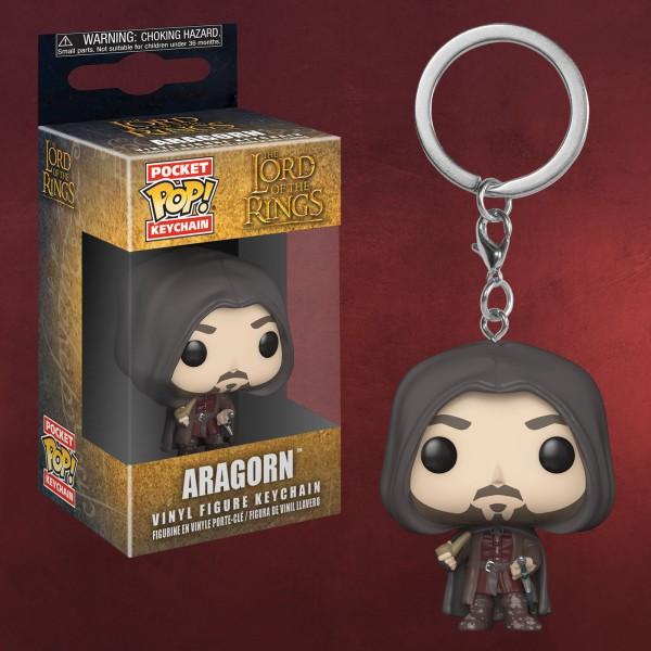 Herr der Ringe - Aragorn Funko Pop Schlüsselanhänger
