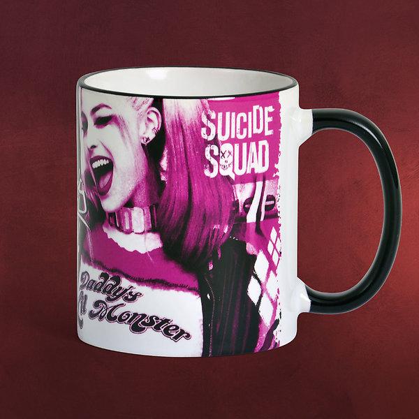 Suicide Squad - Harley Quinn Girl Power Tasse pink