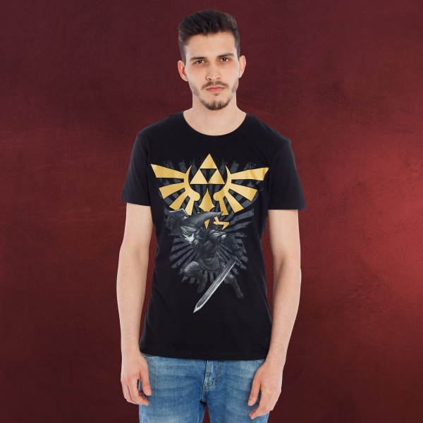 Zelda - Link T-Shirt schwarz