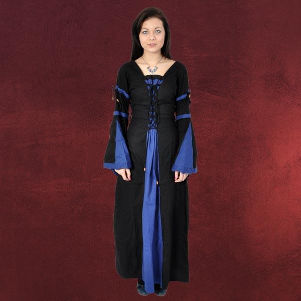 Mittelalter kleid blau