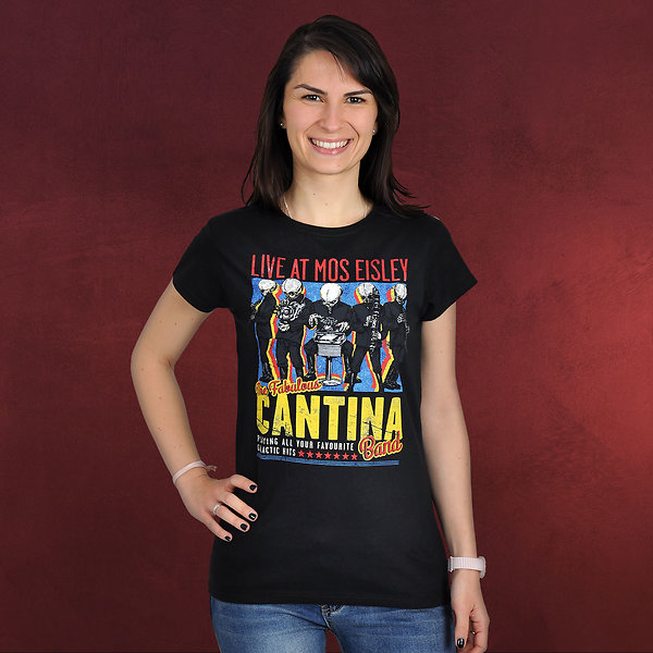 Star Wars - Cantina Band Girlie Shirt