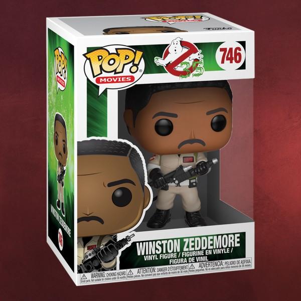 Ghostbusters - Winston Zeddemore Funko Pop Figur