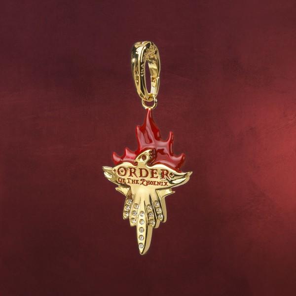 Orden des Phönix Symbol Lumos Charm Anhänger - Harry Potter