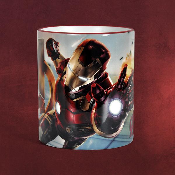 Avengers - Age of Ultron - Iron Man Tasse rot