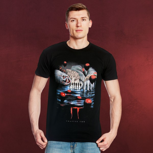 Stephen Kings ES - Trapped in a Nightmare T-Shirt schwarz