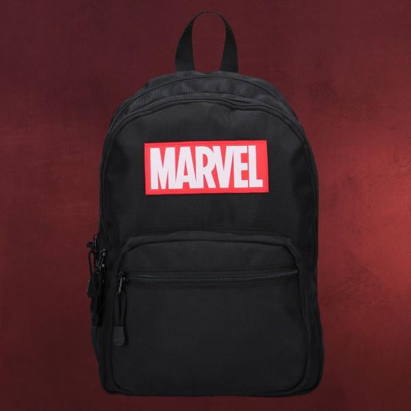 Marvel - Retro Rucksack schwarz