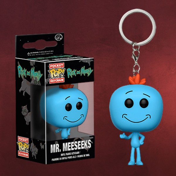 Rick and Morty - Mr. Meeseeks Funko Pop Schlüsselanhänger