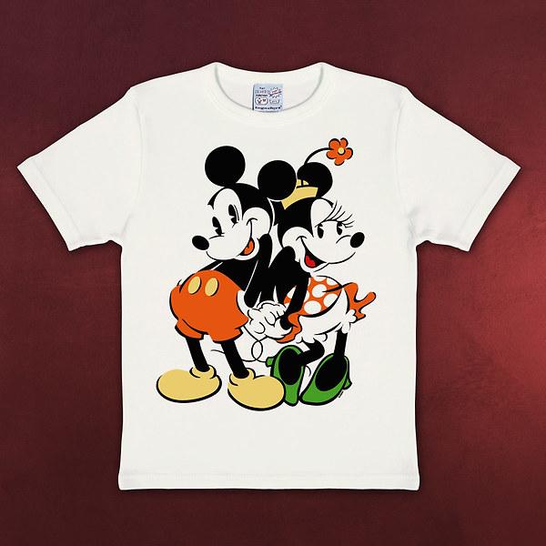 Disney - Minnie & Mickey Mouse Kinder T-Shirt