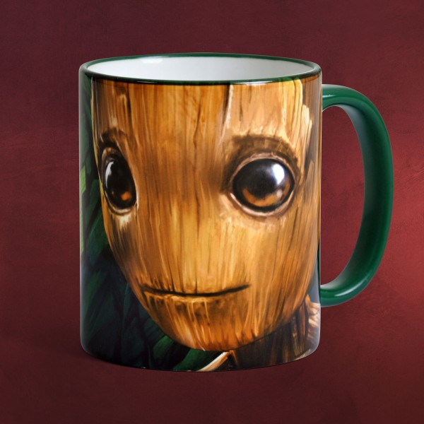 Guardians of the Galaxy - I Am Groot Tasse