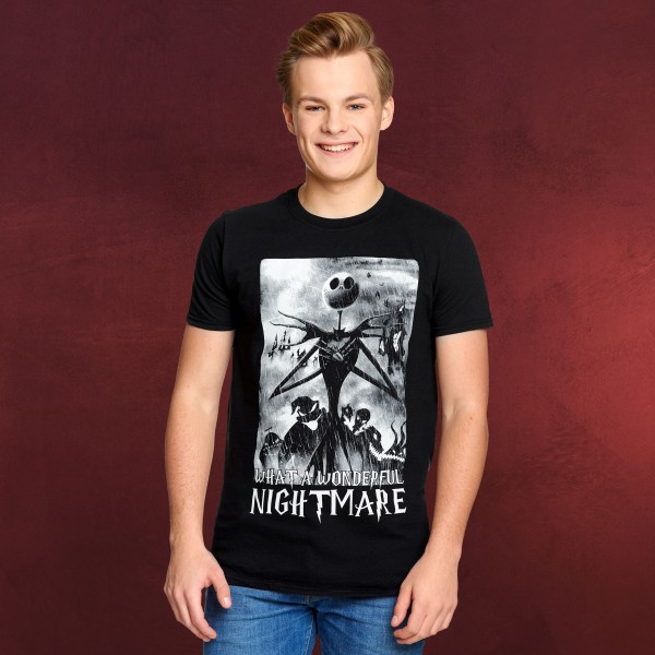 Nightmare Before Christmas - What a Wonderful Nightmare T-Shirt
