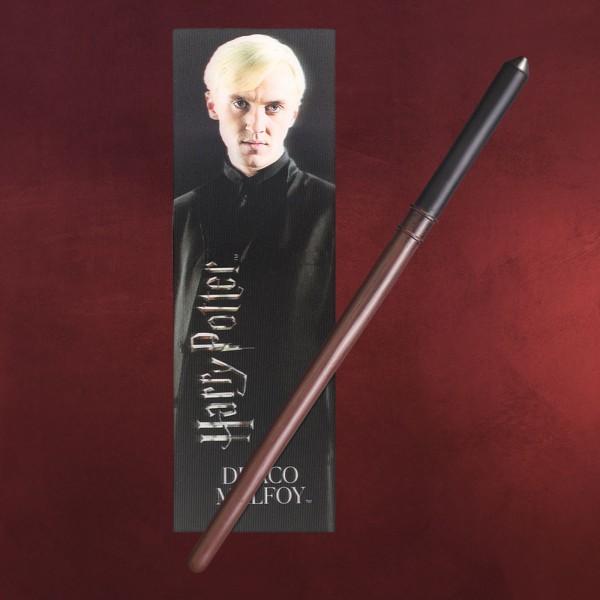 Draco Zauberstab für Jungzauberer mit Lesezeichen - Harry Potter