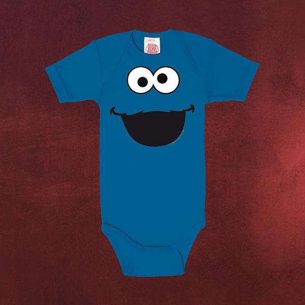 Sesamstraße - Cookie Monster Baby Body blau