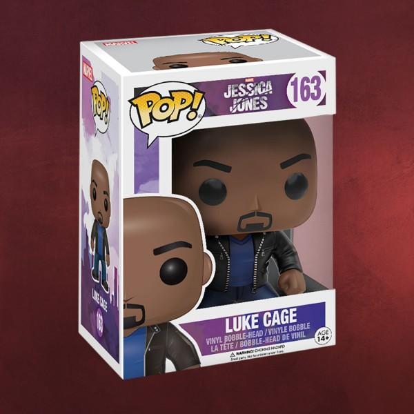 Jessica Jones - Luke Cage Funko Pop Wackelkopf-Figur
