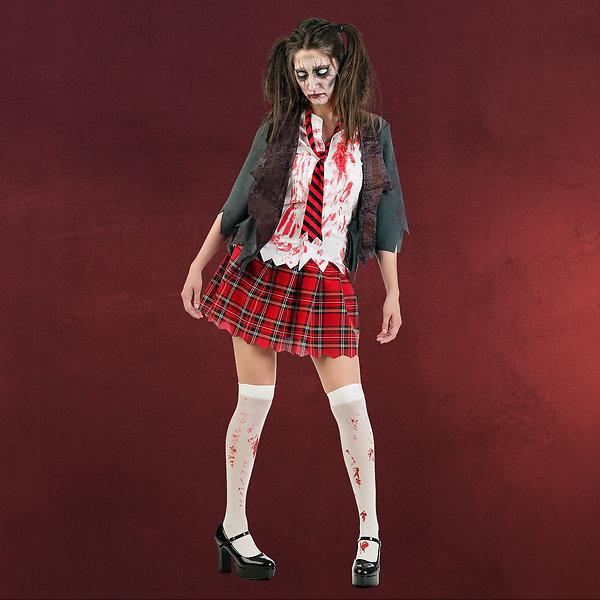 Zombie Schoolgirl Horror Kostüm
