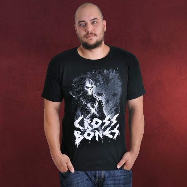 Captain America - Crossbones Full Evil T-Shirt schwarz
