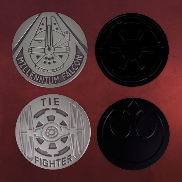 Star Wars - Empire vs. Rebels Untersetzer 4er Set