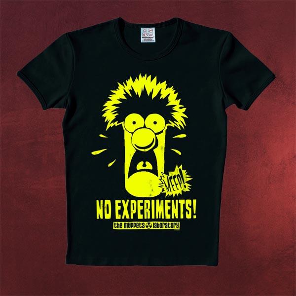 Muppets - Beaker T-Shirt fluoreszierend