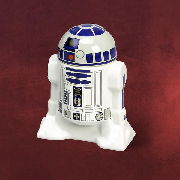 Star Wars - R2-D2 Eierbecher mit Deckel