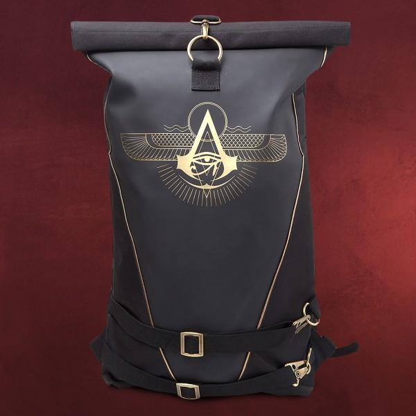 Assassins Creed - Origins Logo Rucksack schwarz
