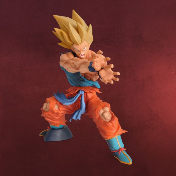Dragon Ball - Super Saiyajin Son Goku Kamehameha Figur 17 cm