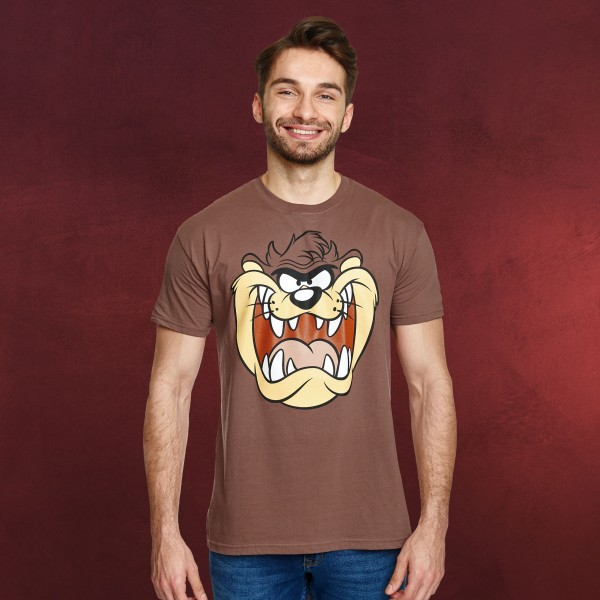 Looney Tunes - Taz Face T-Shirt braun