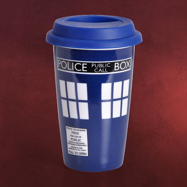 Doctor Who - Tardis To Go Becher