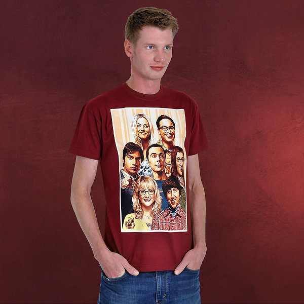 Big Bang Theory - We are Family T-Shirt