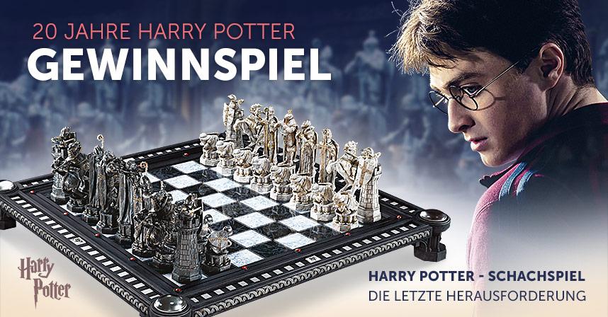 20 Jahre Harry Potter Gewinne Das Zauberschachspiel Im Wert Von 379 Euro Elbenwald De