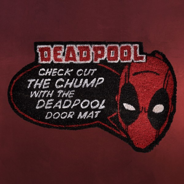 Deadpool - Check out Fußmatte